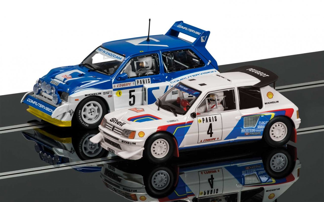Thunderbird Slot Racing - Scalextric Classic Collection Peugeot ...