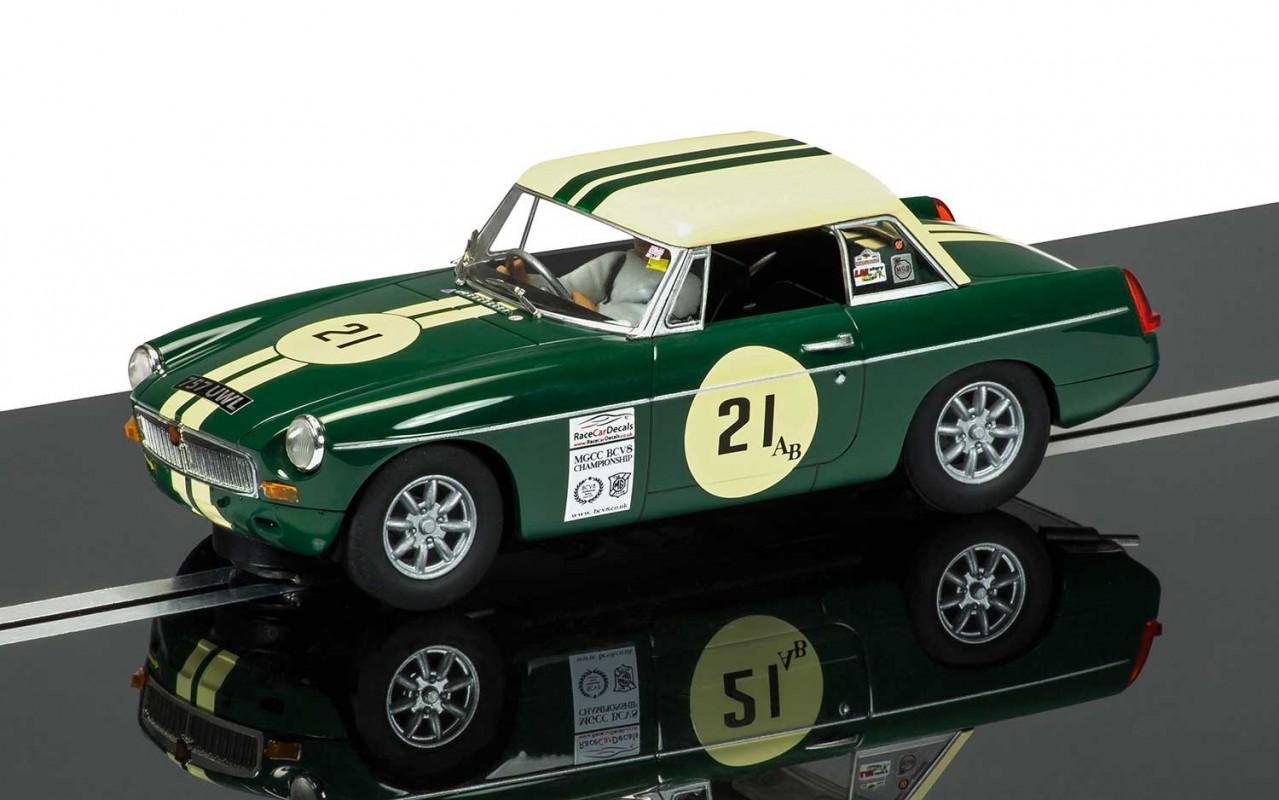 Thunderbird Slot Racing - Scalextric MGB #21