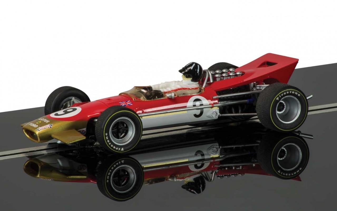 Thunderbird Slot Racing - Scalextric Legends Team Lotus 49 ...