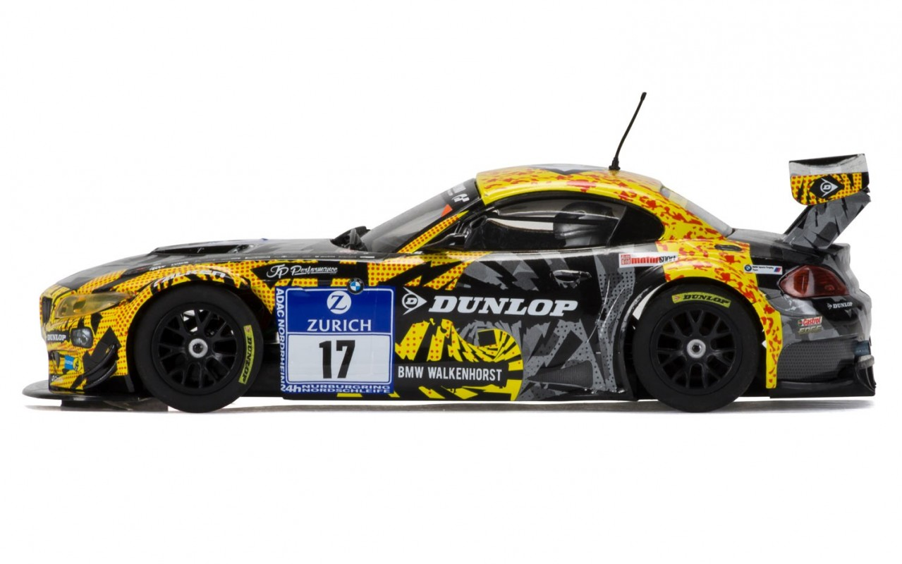 Thunderbird Slot Racing Scalextric Bmw Z4 Gt3 17 24h N 252 Rburgring 2015 C3847 1 32 Scale