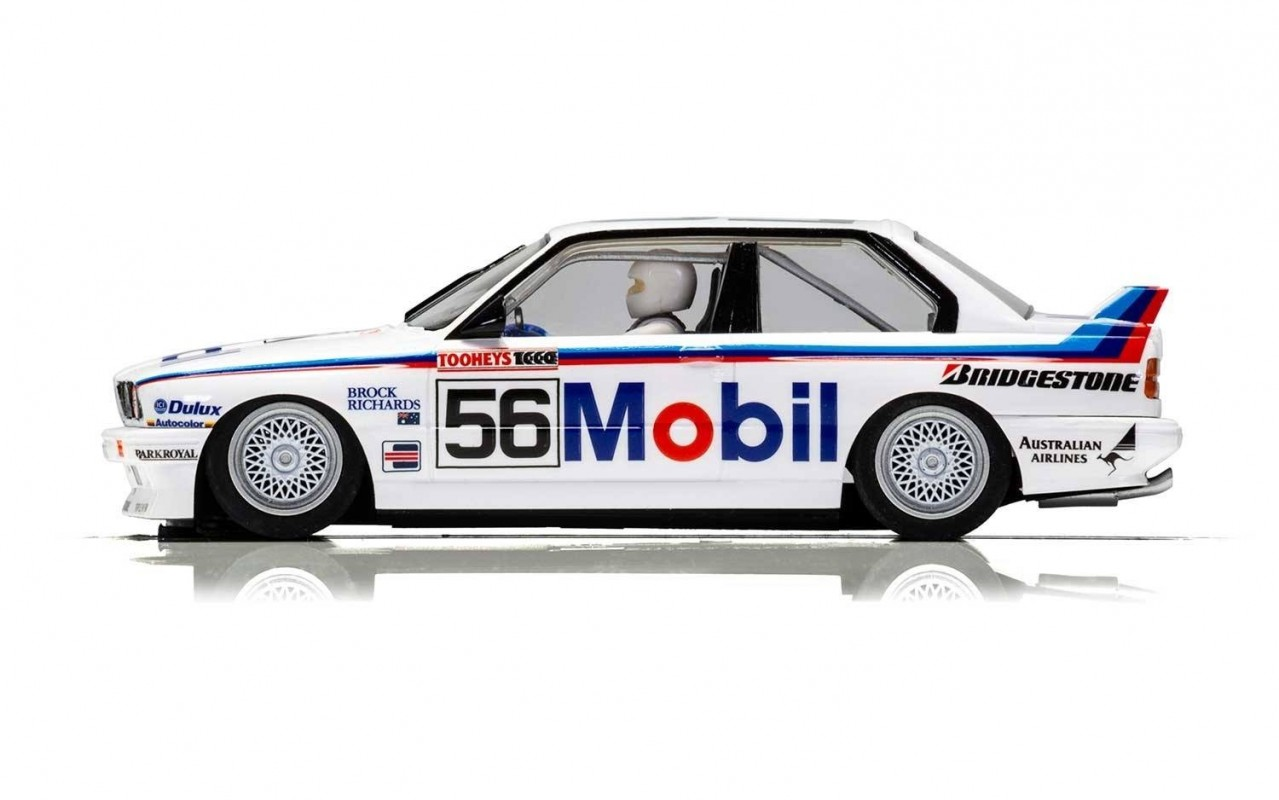 Scalextric Bmw E30 M3 1988 Peter Brock Bathurst 56 C3929