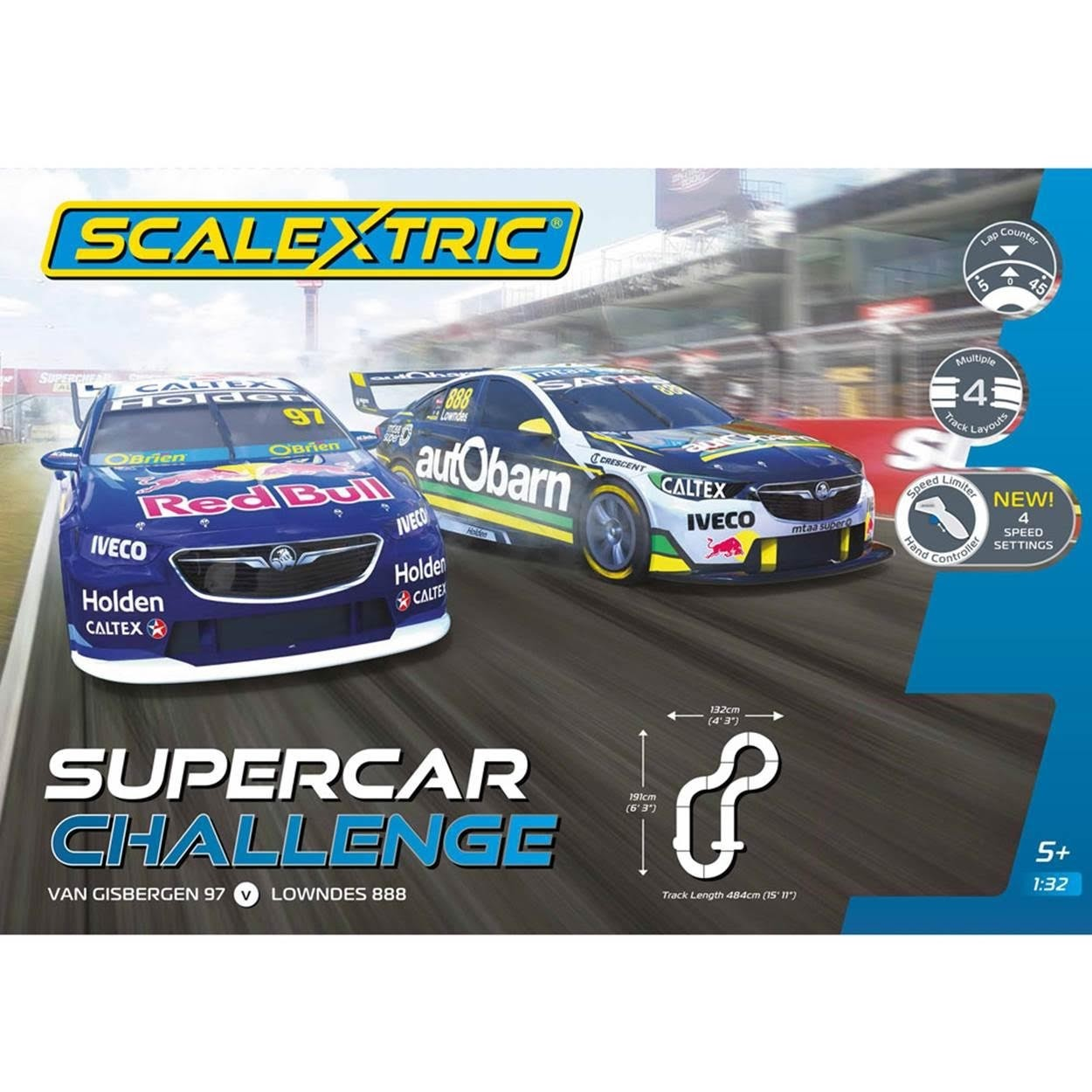 New Supercars: Scalextric Holden ZB V8 Supercar