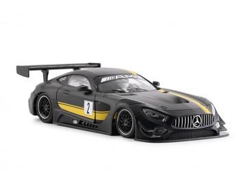 NSR Mercedes AMG GT3 Test car black #2