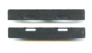 1707F Flat Body Mount Plates 10mm (1pr)