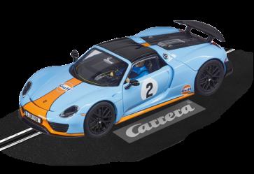 Carrera 132 Porsche 918 Spyder 'GULF Racing' - 27549