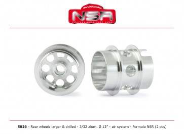 NSR F1 rear wheels - alloy - NSR5026