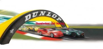 Scalextric Dunlop Footbridge
