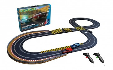 Scalextric 'American Police Chase' set - C1405
