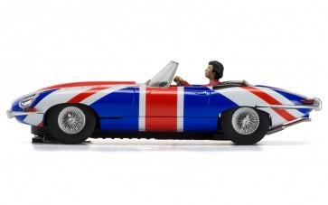 Scalextric Jaguar 'E' Type Union Jack - C3878