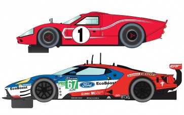 Scalextric Legends Le Mans 1967 – 50 Years of Ford Twin Pack - Limited Edition