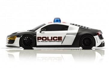 Scalextric Audi R8 Police Car - C3932