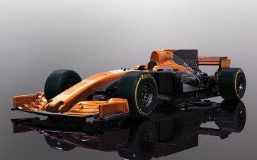 Scalextric McLaren Honda MCL32 Car - 2017 - C3956