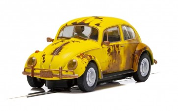 Scalextric VW Beetle ' Rusty Rides' - Yellow C4045