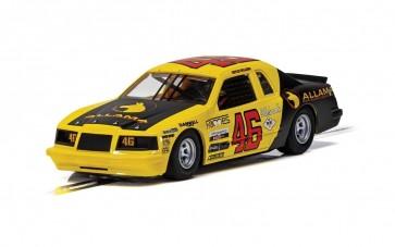Scalextric Ford Thunderbird - Yellow & Black No.46 - C4088