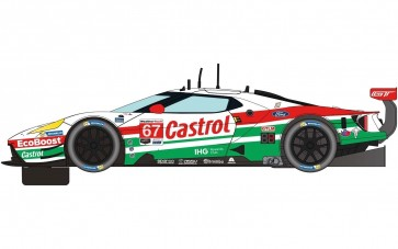 Scalextric Ford GT GTE - Daytona 2019 - No. 67 - C4151