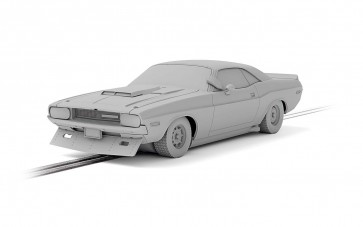 Scalextric Dodge Challenger - Sam Posey No.76 - C4164