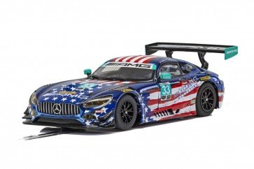 Scalextric Mercedes AMG GT3-Riley Motorsports C4023