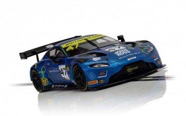 Scalextric Aston Martin GT3 - 2019 TF Sport British GT  - C4076