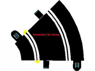 Scalextric Sport Track Curve R1 x 2