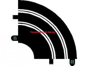 Scalextric Sport Track Curve R1 x 1
