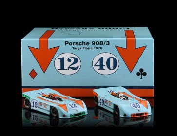 NSR Porsche 908 'GULF' Limited Edition twin pack-SET-09