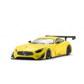 Mercedes AMG GT3 Test car yellow 0093