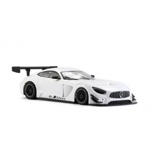 Mercedes AMG GT3 Test car white #0092SW