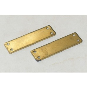 1707B2B Brass Extension Plates (1pr)