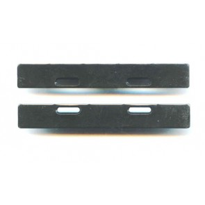 1707F Flat Body Mount Plates 10mm (1pr)