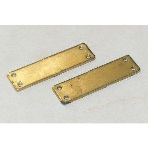 1707B2B Brass Extension Plates (1pr)