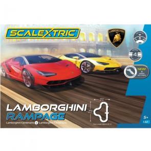 Scalextric 'Lamborghini Rampage' set C1386