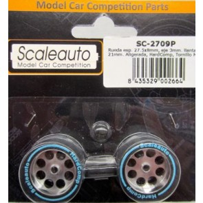 Scale Auto Wheels - hard front