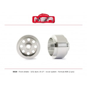 NSR F1 front wheels - alloy - NSR5020 (Wheels)