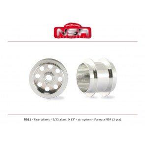 NSR F1 rear wheels - alloy - NSR5021