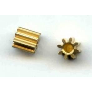 Plafit brass pinion - 8t x 2