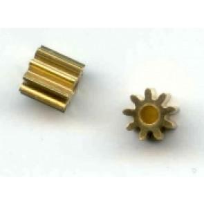 Plafit brass pinion - 9t x 2