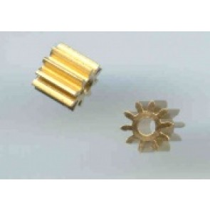 Plafit 10t pinion - brass x 2