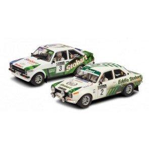 Scalextric Eddie Stobart - RAC Rally Escorts