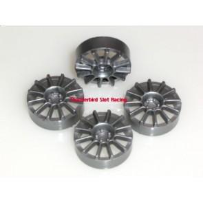 NSR 12 spoke insert - Silver