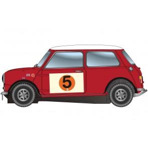 Scalextric Mini Cooper S - RAC Rally 1966.