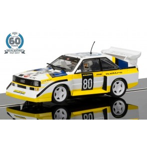 Scalextric Anniversary Collection Car #4 Audi Quattro Limited Edition - C3828a