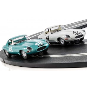 Scalextric Legends Jaguar E-type 1963 International Trophy Twin Pack - Limited Edition