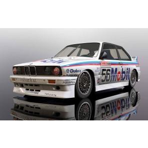 Scalextric BMW E30 M3 1988 Peter Brock Bathurst #56