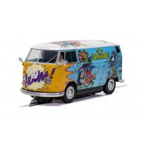 Scalextric VW Panel Van T1b - DC Comics