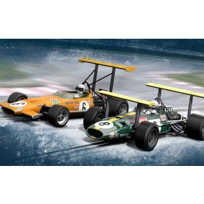 Scalextric Winged Legends - Brabham BT26A - C3589A (free shipping N/A)