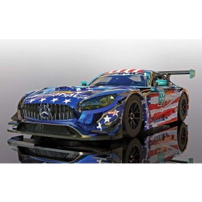 Scalextric Mercedes AMG GT3-Riley Motorsports C4023