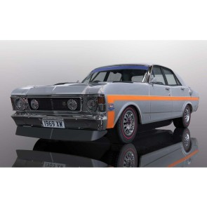 Scalextric Ford Falcon XWGT Silver Fox - C4037