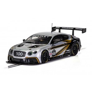 Scalextric Bentley Continental GT3 Centenary Edition - C4057a