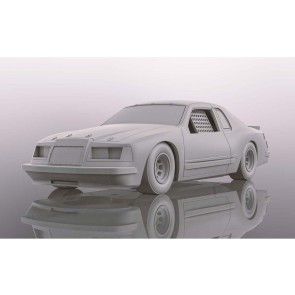 Scalextric Ford Thunderbird 'White' - C4077