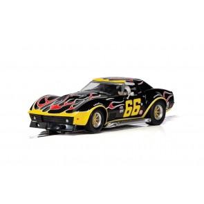 Scalextric  Chevrolet Corvette - No. 66 'Flames' C4107
